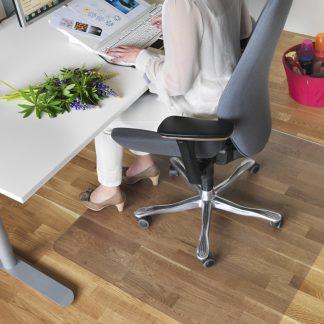 Stoleunderlag til kontorstol i ekstra god kvalitet, tykkelse 3,4 mm. flere størrelser