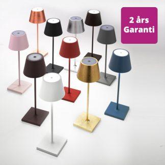 Billede af Poldina bordlampe i flere farver