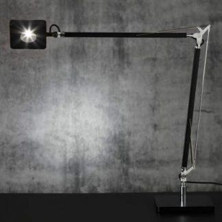 Billede af Square arbejdslampe i sort