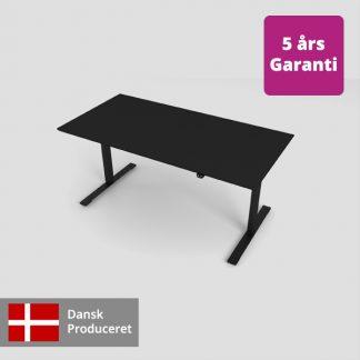 Billede af populært hæve sænkebord sort