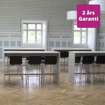 Billede af højbord med gavle, miljø
