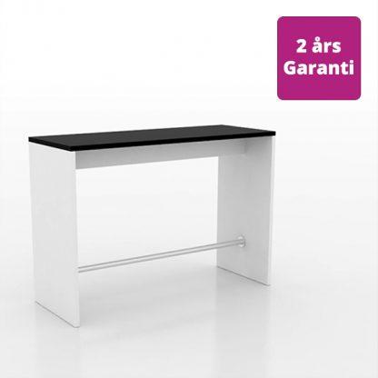Billede af højbord med gavle i hvid