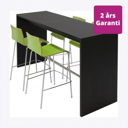 Billede af højbord med gavle i sort