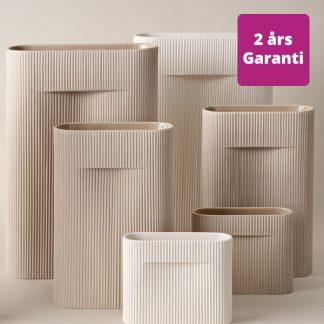 Billede af Ridge vaser i tre størrelser