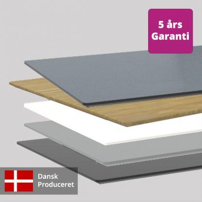 Billede af løse bordplader
